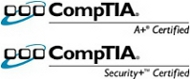 CompTIA A+ and CompTIA Security+